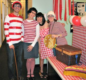 where is waldo group costume idea
