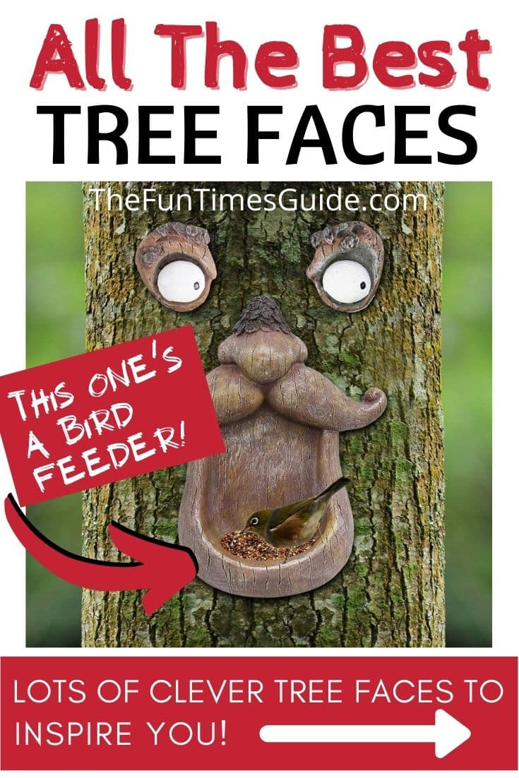 Photos Of All The Best Tree Faces & Talking Trees For Halloween Props... Or Year Round Fun!