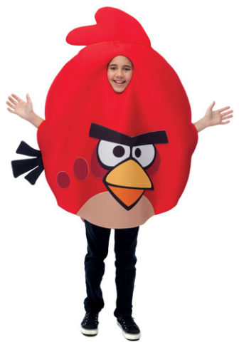 One of the many Angry Birds costumes available this year!