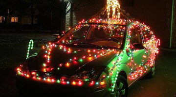 How To String Car Christmas Lights On Your Vehicle For The Holidays