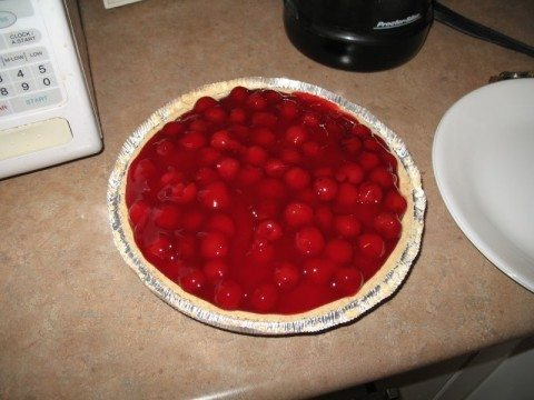 cherry-cheesecake