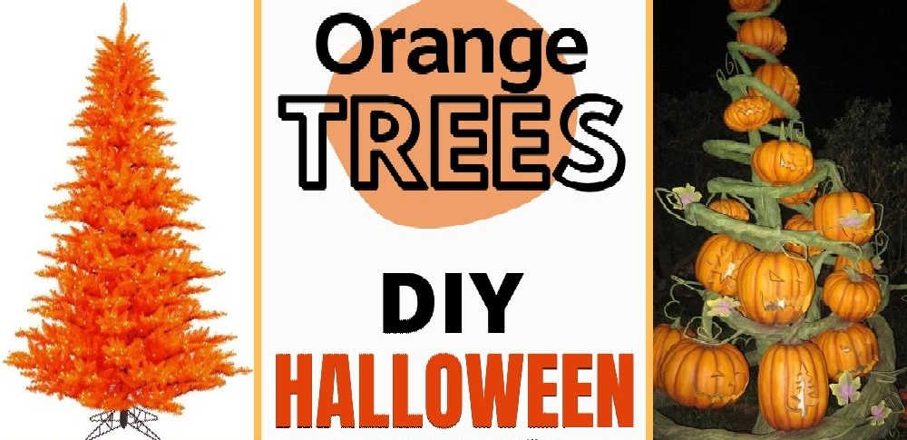 DIY Halloween Trees – They're More Than Just Christmas Trees With Halloween Ornaments!