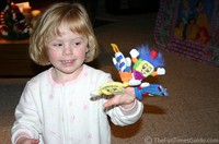Finger puppets make a  perfect holiday gift for kids!