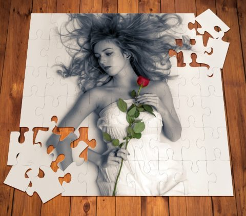 gift ideas for men - romantic picture puzzle