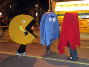 pac man game group costume idea