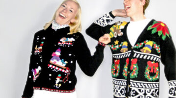 Ugly Sweaters In Search Of A Party… Or A Theme
