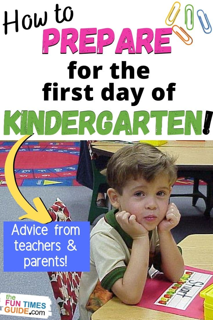 Is Your Child About To Start Kindergarten? Tips For Parents Preparing Kids For The First Day Of Kindergarten (What To Expect)