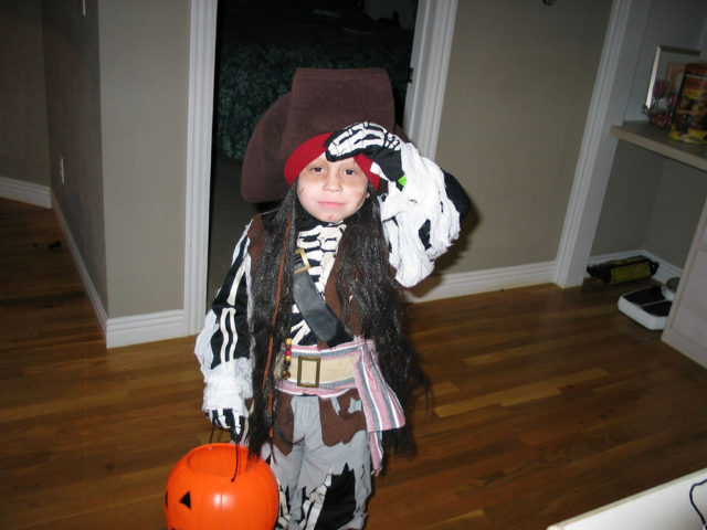 Pirate costumes you can make at home for Halloween decorations you can make at home