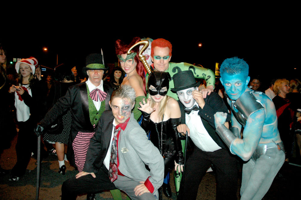 batman riddler movie group costume