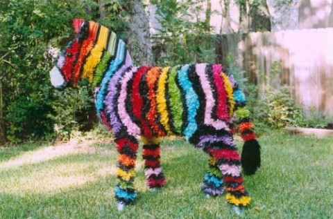 make-a-zebra-pinata