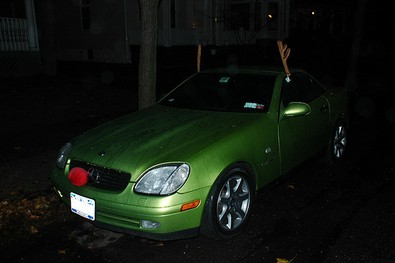 rudolph-red-nosed-green-car-with-antlers-by-flatbush-gardener.jpg