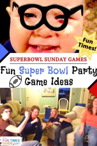 Fun Super Bowl Party Game Ideas