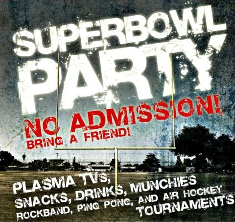 super bowl party invite