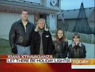 Carson Williams and his family on the Today Show December 5, 2005.