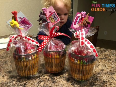 These DIY teacher Valentine gifts were fun and easy to make!